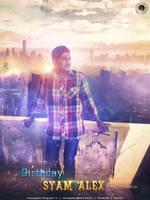 SYAM ALEX BIRTHday_Poster by VNSNAGASAI