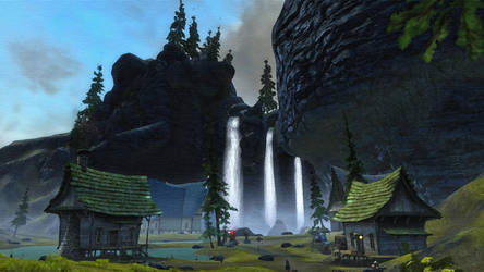 Kinkade Falls by Maevrim