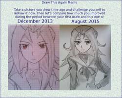 Draw this Again: Kamishiro Rio by Hikari-Miyako