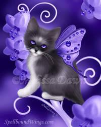 Amethyst Cat by MelissaDawn