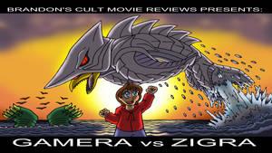 Brandon's Cult Movie Reviews: Gamera vs Zigra by Enshohma