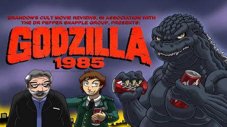 Brandon's Cult Movie Reviews: Godzilla 1985 by Enshohma