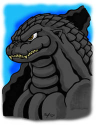 Heisei-era Godzilla - October 2018 by Enshohma