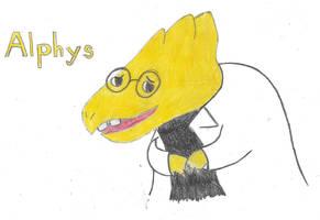 Alphys by kittycheetah14