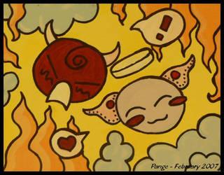 Demon Angel Crush by pange