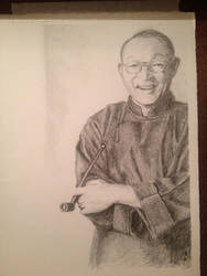 Lin Yutang by MaiTaitai