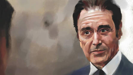 Al Pacino from Devil's advocate by aquadrop