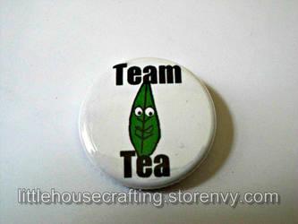Team Tea 1.25 inch button by LittleHouseCrafting