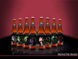 Beer Bottles by Toukichiro-Reborn