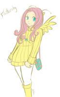 Fluttershy by Selidra