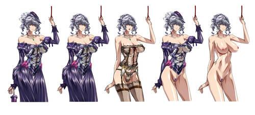 Lady Style Ladies by QAZIERU