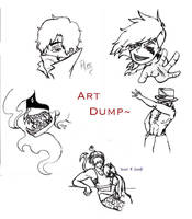 Art Dump by Swallow-of-Fire8091