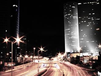 Night Life City by Cerberussian