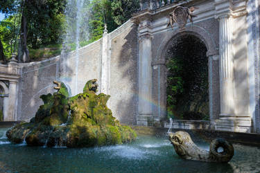 The Fountain of Dragons by MarcoFiorilli