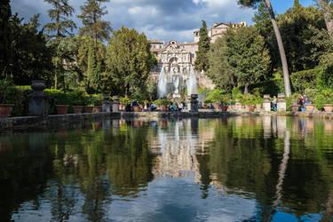 The Organ Fountain by MarcoFiorilli