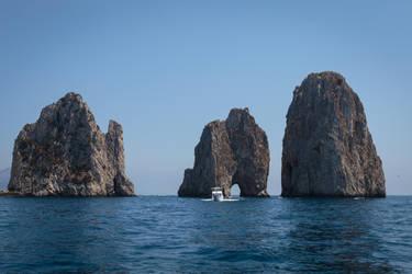 Sea Stack of Capri by MarcoFiorilli