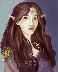 Purple Queen by bee-yu