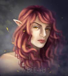 Rose hair by bee-yu