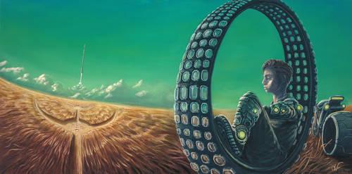 Things Go In Cycles by LoganWaldenArt