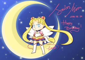 Happy Birthday Usagi! by teetania
