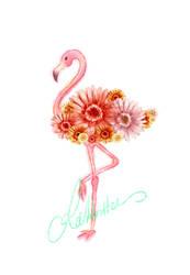 Flamingo by teetania