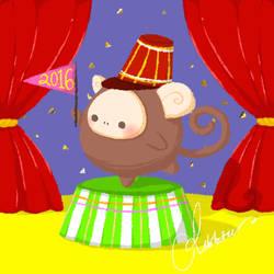 Monkey's Year by teetania