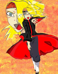 Farewell to Deidara... by Quistis123