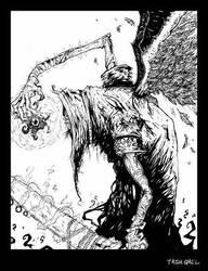 TASH QAEL by theviljackass by Dark-Arts-Asylum