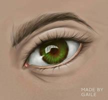 Eye redraw by trishagaile