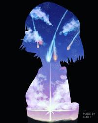 Your name-Mitsuha by trishagaile