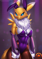 Bunny Suit Renamon by DoomXWolf