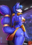Space Beauty by DoomXWolf