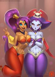 That one annoying half-genie brat! by DoomXWolf