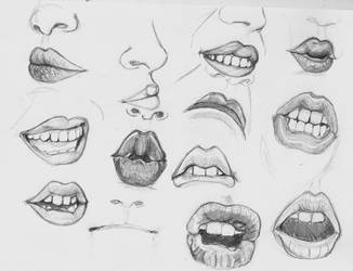 Lips 01 by SajoPhoe