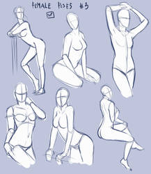 Female Poses by SajoPhoe