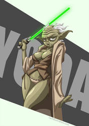Yoda by cold-blooded-angel
