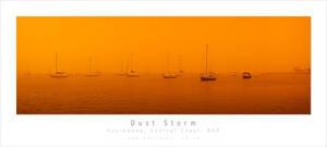 Dust Storm Australia Panno by MattLauder