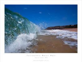 Forresters Beach Water Wall by MattLauder