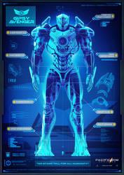 Pacific Rim Uprising Gipsy Avenger Blueprints by Sideswipe217