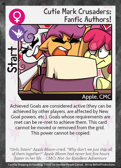 Cutie Mark Crusaders: Fanfic Authors! by IthrySkylark ...