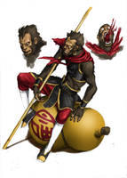 monkey king by zhuoyu83