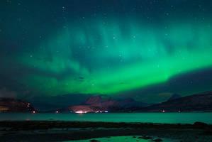 Aurora Borealis or Giant Fish? by KennethSolfjeld