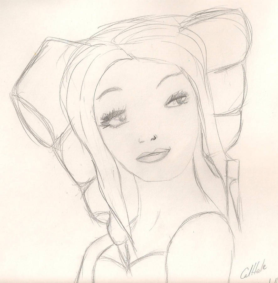 Baby Doll Sketch By Calhale On Deviantart
