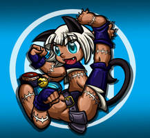 Skullgirls Ms Fortune Chibi by Melle-d