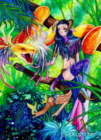 ACEO_Rise of the Snakes by Eye-X-catcher