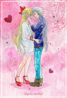 Minako and Yaten in Love by Eye-X-catcher