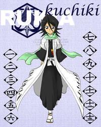 Captain Rukia Kuchiki by AnimeLoverClub