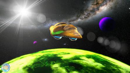 Orbiting SR388 by VDSFM