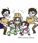 APH Draw the squad 6 by Alezheia
