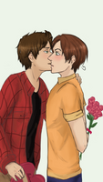 [C] Be my Valentine? by Alezheia